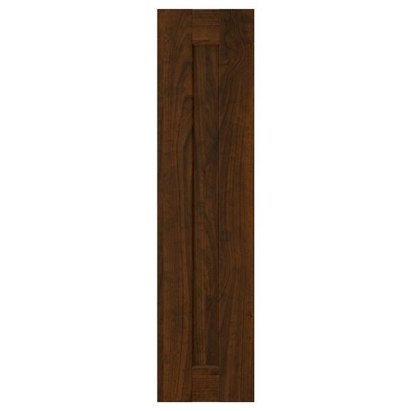 EDSERUM Uşă, aspect lemn maro, 20x80 cm