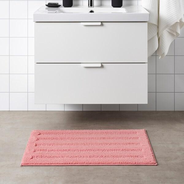 EMTEN Covoraş baie, roz deschis, 50x80 cm