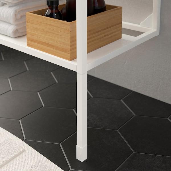 ENHET Picioare pentru cadru, alb, 23.5 cm