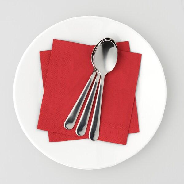 FANTASTISK Şerveţel hârtie, roşu, 24x24 cm