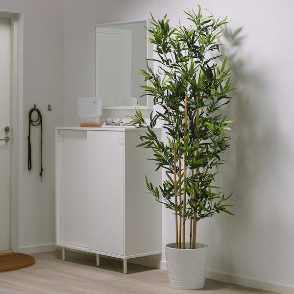 FEJKA Plantă artificială, interior/exterior bambus, 23 cm