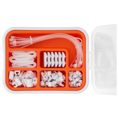 IKEA FIXA Set organizare cabluri, 114p