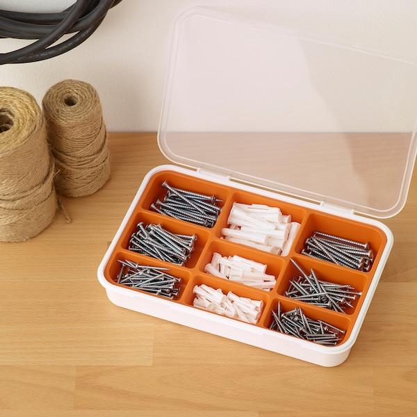 FIXA Set holzşuruburi+dibluri, 260 piese