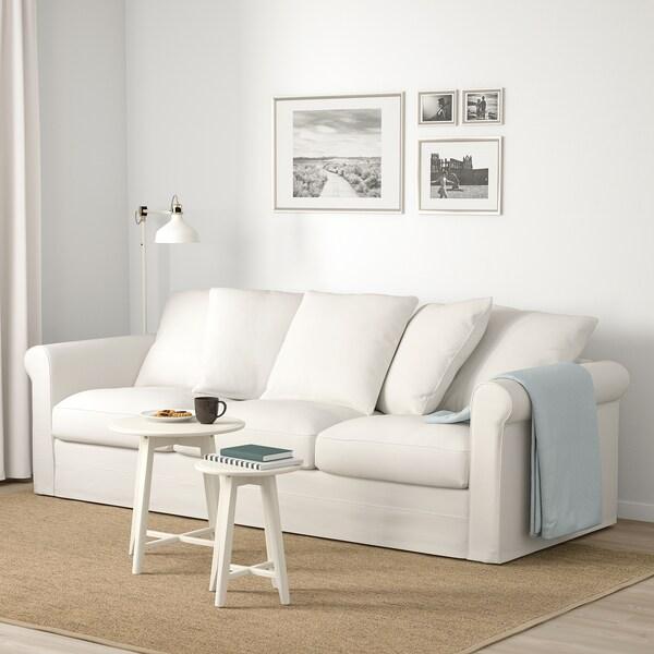 GRÖNLID canapea 3 locuri Inseros alb 104 cm 247 cm 98 cm 7 cm 18 cm 68 cm 211 cm 60 cm 49 cm