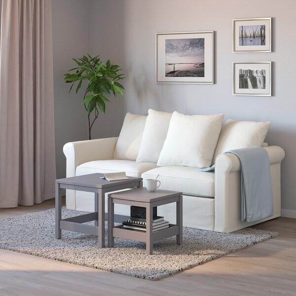 GRÖNLID Canapea 2 locuri+pat, Inseros alb