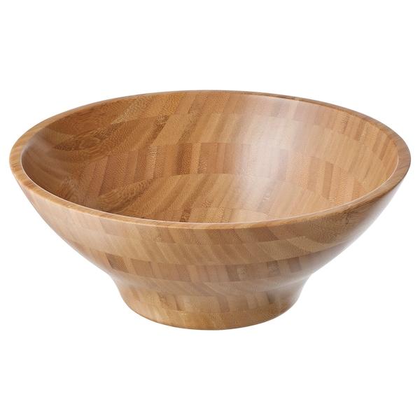 GRÖNSAKER Bol, bambus, 28 cm