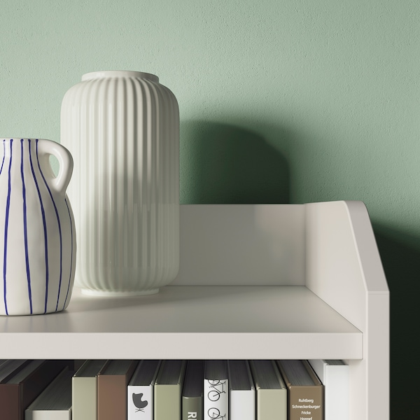 HAUGA Ansamblu depozitare, alb, 208x116 cm