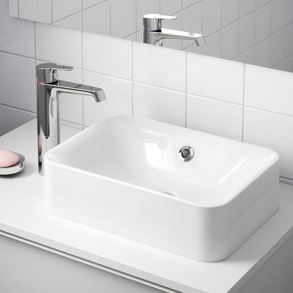 HÖRVIK Lavoar/blat, alb, 45x32 cm