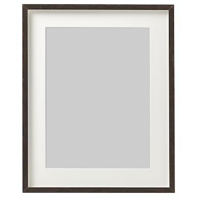 HOVSTA Ramă, maro închis, 40x50 cm