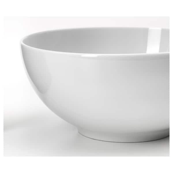 IKEA 365+ Bol, laturi rotunjite alb, 16 cm