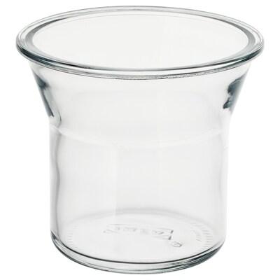 IKEA 365+ Borcan, rotund/sticlă, 1.0 l