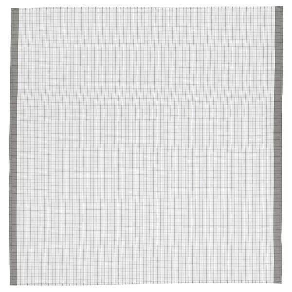 IKEA 365+ Faţă de masă, alb/gri, 145x145 cm