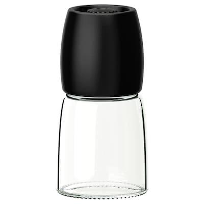 IKEA 365+ IHÄRDIG Râşniţă condimente, negru, 12.5 cm