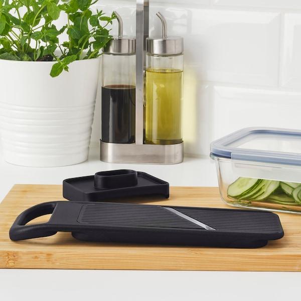 IKEA 365+ Răzătoare legume, negru