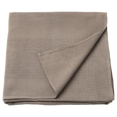 INDIRA Cuvertură, maro des, 150x250 cm
