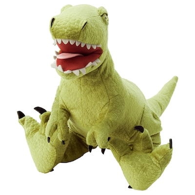 JÄTTELIK Jucărie de pluş, dinozaur/dinozaur/tiranozaur Rex, 44 cm