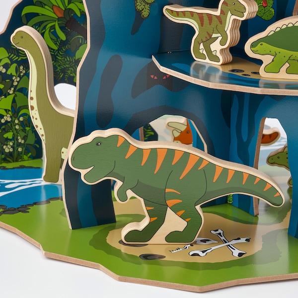 JÄTTELIK Set lumea dinozaurilor, 12 piese