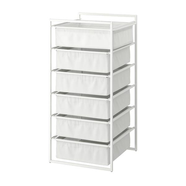 JONAXEL Ansamblu depozitare, alb, 50x51x104 cm