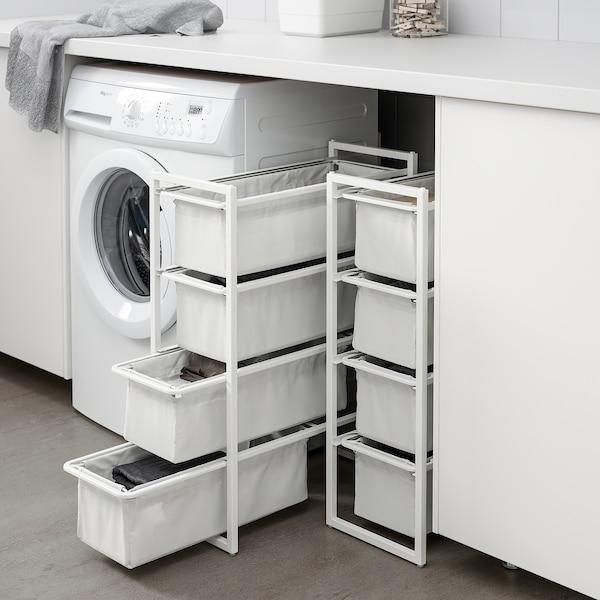 JONAXEL Ansamblu depozitare, alb, 25x51x70 cm