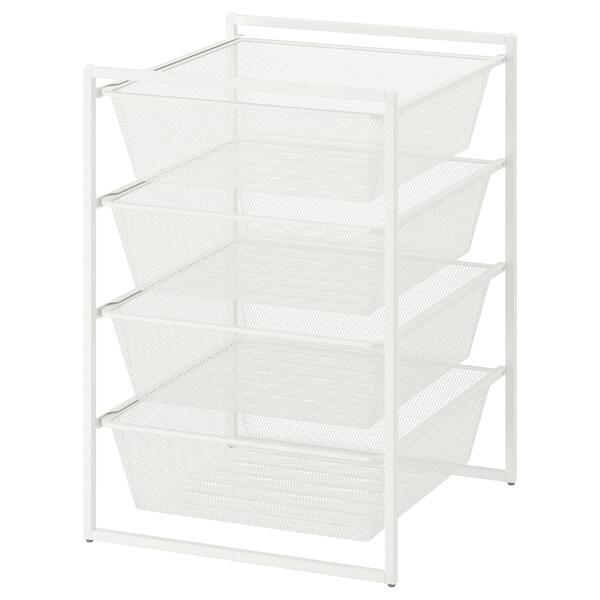 JONAXEL Ansamblu depozitare, alb, 50x51x70 cm