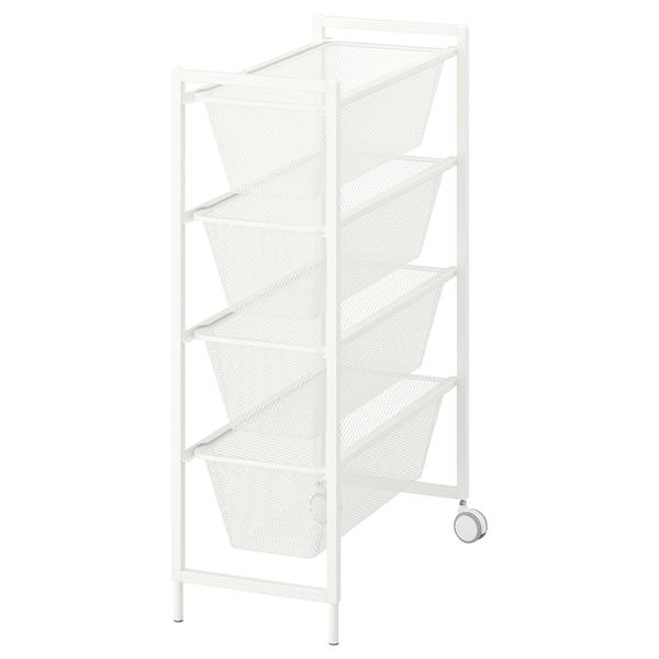 JONAXEL Ansamblu depozitare, alb, 25x51x73 cm