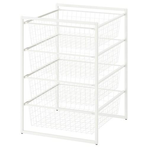 IKEA JONAXEL Cadru + coşuri metalice