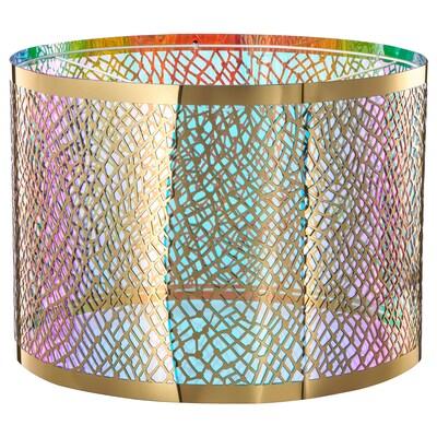 KARISMATISK Abajur, model plasă auriu, 44 cm