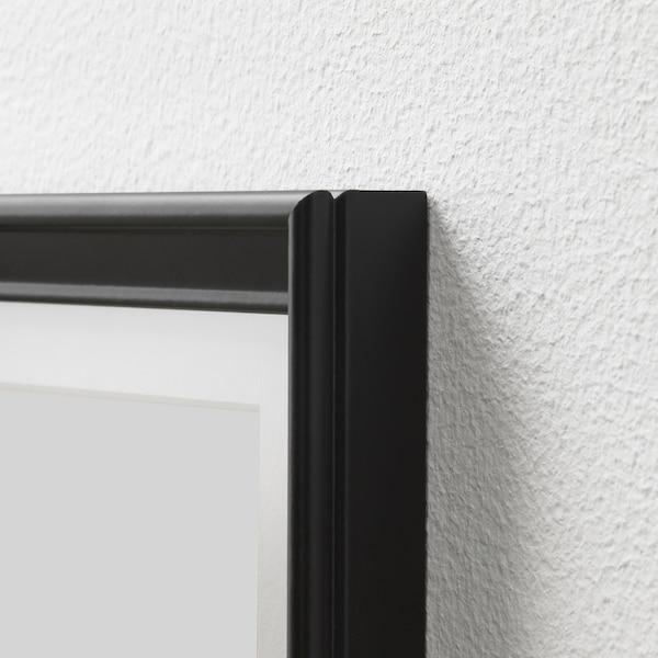 KNOPPÄNG Ramă, negru, 61x91 cm