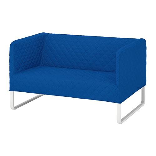 Knopparp Canapea 2 Locuri Knisa Albastru Str Ikea