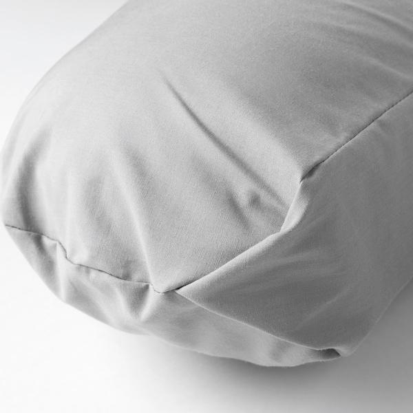 LEN Pernă copil, gri, 60x50x18 cm