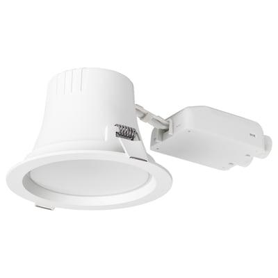 LEPTITER Spot LED încorporabil, intensitate reglabilă/nuanţe alb