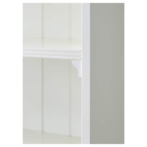 LIATORP Bibliotecă, alb, 96x214 cm