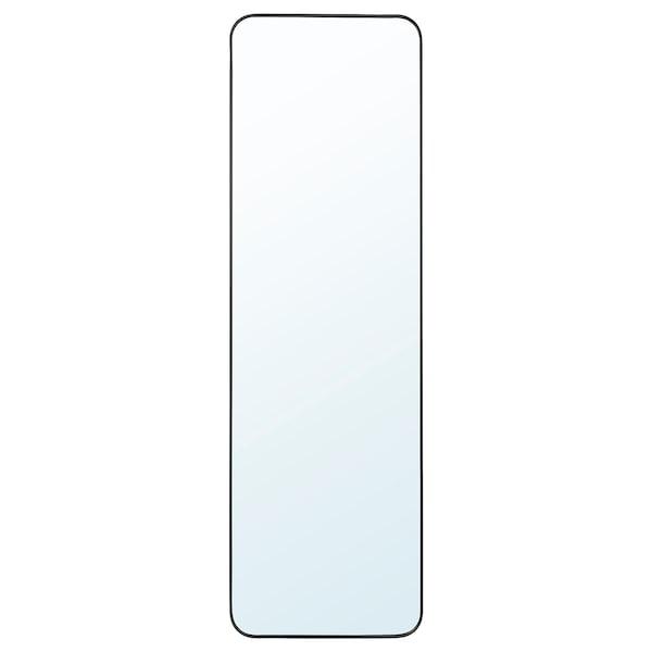 LINDBYN Oglindă, negru, 40x130 cm