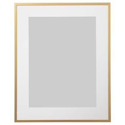 LOMVIKEN Ramă, auriu, 40x50 cm