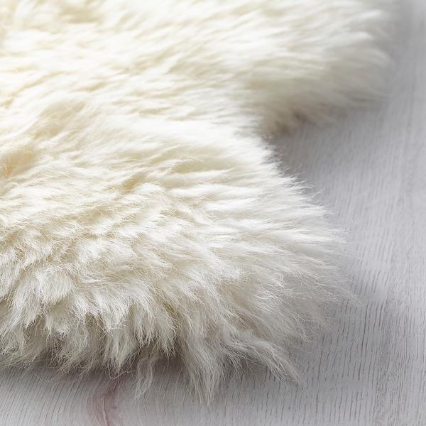 LUDDE Piele de oaie, alb