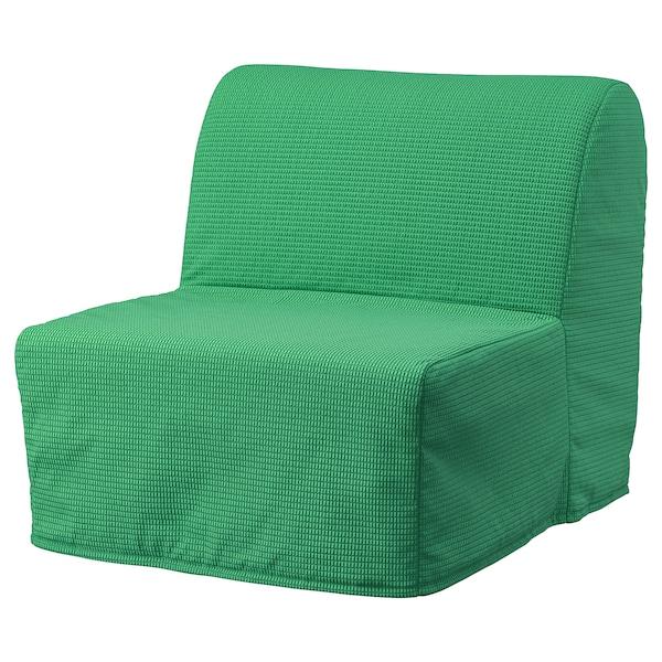 LYCKSELE LÖVÅS Fotoliu extensibil, Vansbro verde deschis