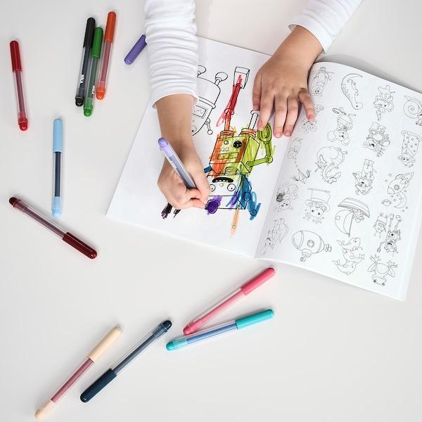 MÅLA Carte de colorat