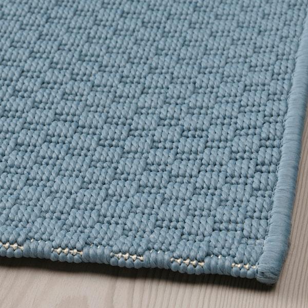 MORUM Covor ţesătură plată, int/ext, bleu, 160x230 cm