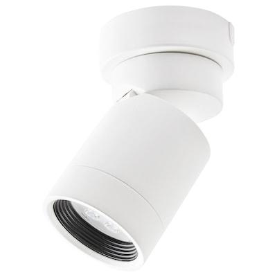 NYMÅNE plafonieră 1 spot alb 8.5 W 13 cm 8 cm