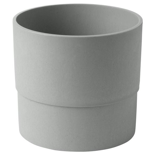 NYPON ghiveci interior/exterior gri 15 cm 17 cm 15 cm 16 cm