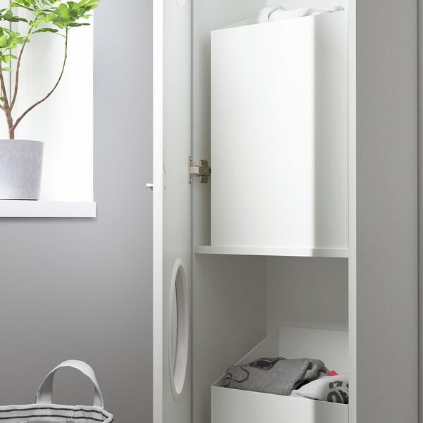 NYSJÖN Dulap rufe, alb, 40x190 cm