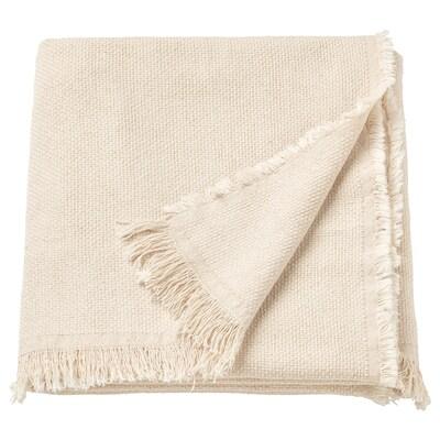 ODDRUN Pătură, natur/bej, 130x170 cm