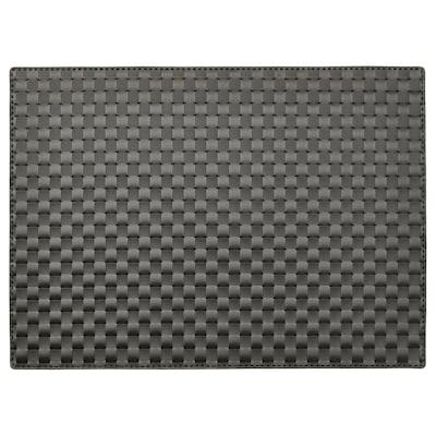 ORDENTLIG Suport farfurie, negru, 46x33 cm