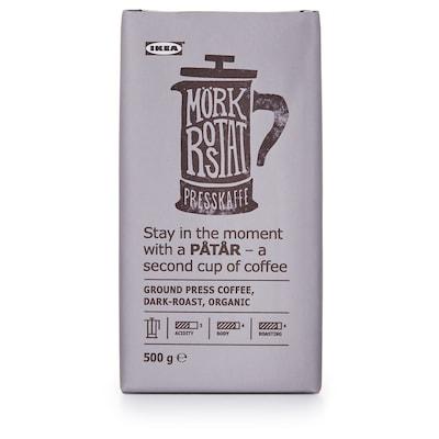 PÅTÅR Cafea măcinată, neagră-prăjită, ecologic/certificat UTZ/cafea Arabica 100%