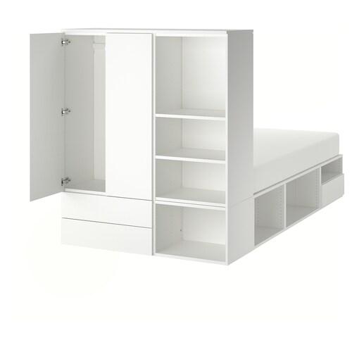 IKEA PLATSA Cadru pat cu 2uşi+3sertare
