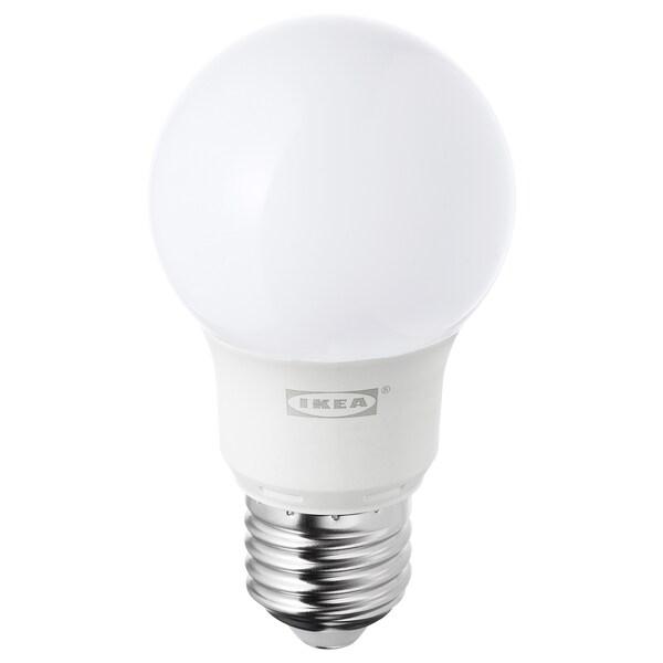 RYET bec LED E27 400 lumeni glob opal 400 lm 5 W