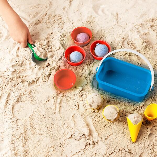 SANDIG Set îngheţată jucărie 10 piese