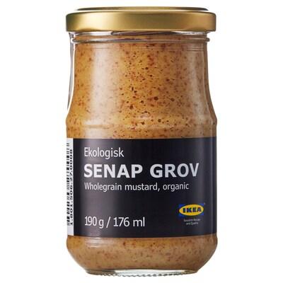 SENAP GROV Muştar/boabe întregi, ecologic
