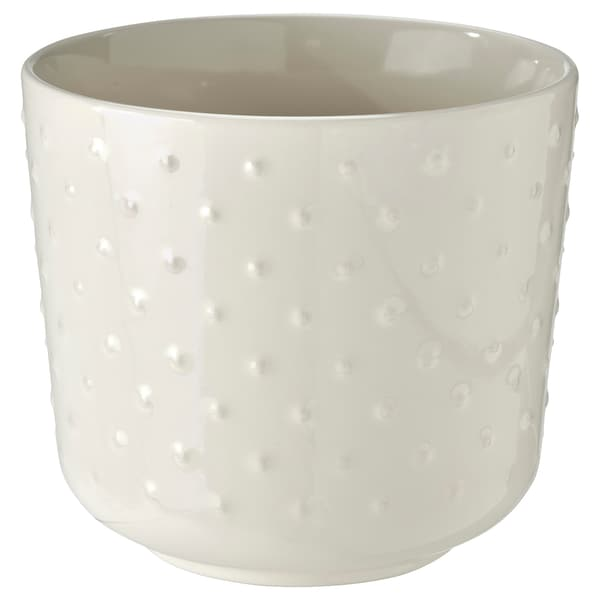 SESAMFRÖN Ghiveci, interior/exterior alb, 12 cm