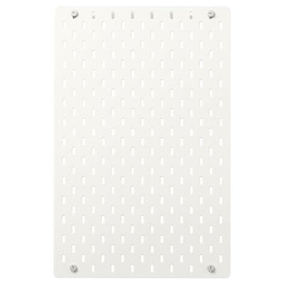 SKÅDIS Panou perforat, alb, 36x56 cm